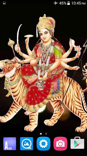 4D Maa Durga Live Wallpaper 19 تصوير الشاشة