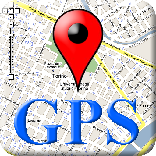 My GPS Location Map, Route and Navigation icon