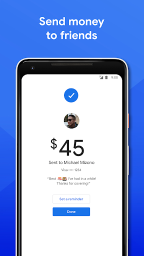 Google Pay: Pay with your phone and send cash screenshot 3