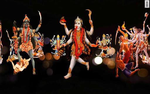 4D Maa Kali Live Wallpaper 12 تصوير الشاشة