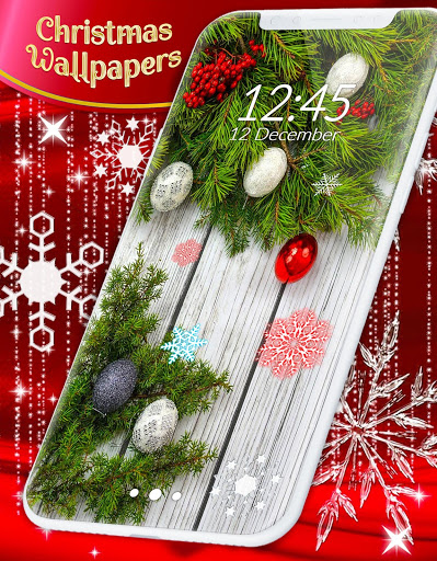 Christmas Wallpapers 🎅 Xmas Tree Live Wallpaper 2 تصوير الشاشة