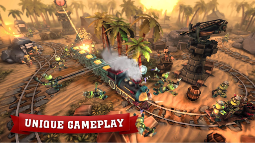 Train Tower Defense screenshot 1