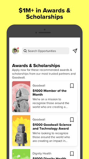 Goodwall - Community for Students & Professionals screenshot 8