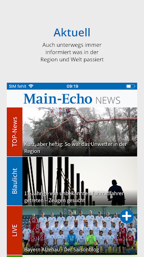 Main-Echo NEWS screenshot 1