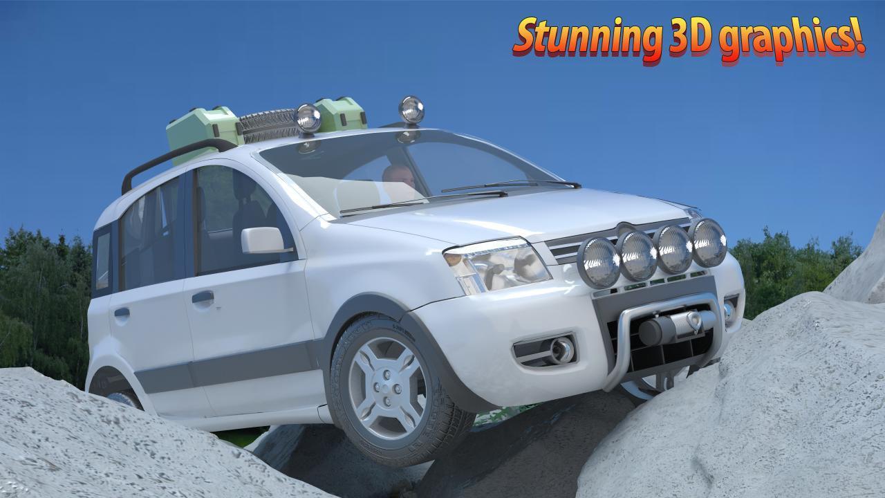 4x4 driving simulator screenshot 1