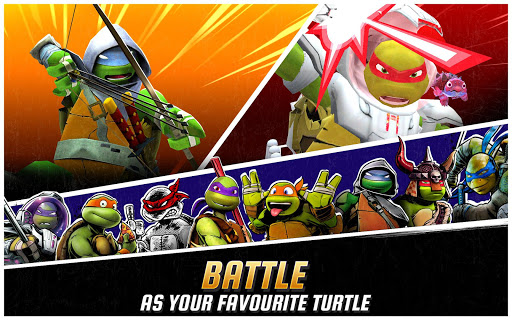 Ninja Turtles: Legends 5 تصوير الشاشة