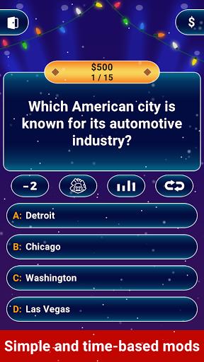 Millionaire 2021 -  Free Trivia Quiz Offline Game screenshot 2