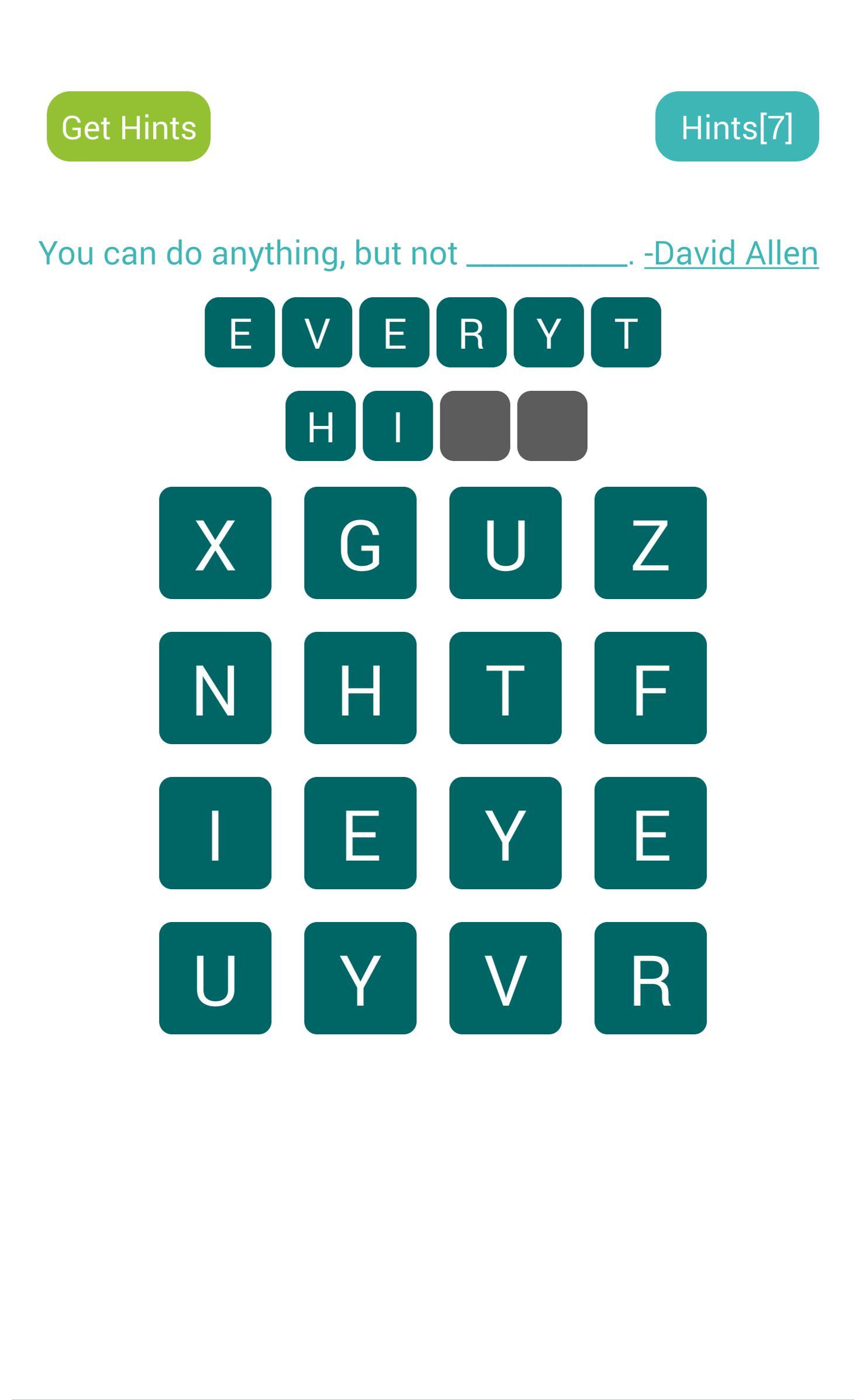 Word search free-brain puzzle: screenshot 3
