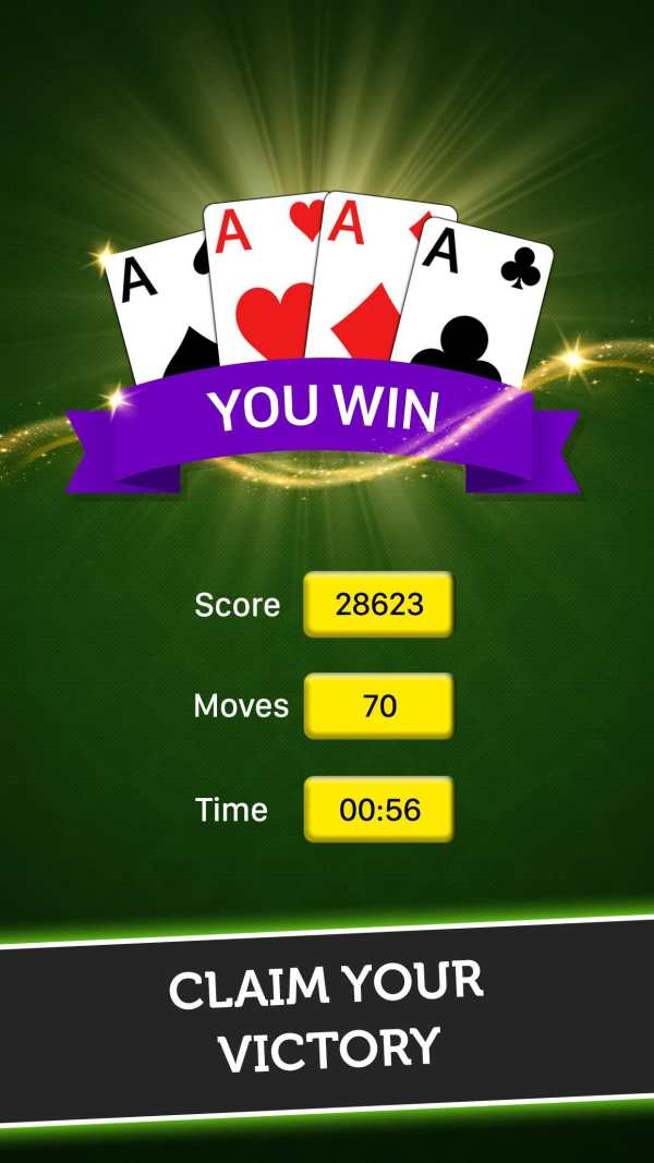 Classic Solitaire 2020 - Free Card Game screenshot 3