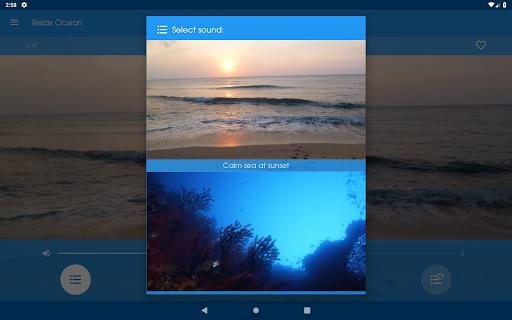 Relax Ocean - Nature sounds: sleep & meditation screenshot 9