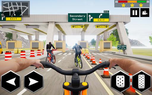 Mountain Bike Simulator 3D screenshot 1