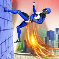 Полиция робота Скорость героя: Полиция робота игры on APKTom