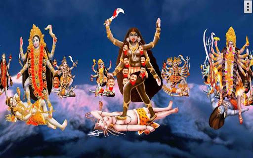 4D Maa Kali Live Wallpaper 18 تصوير الشاشة