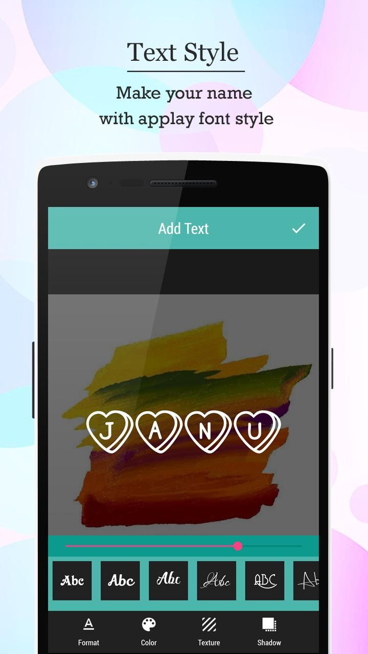 Name Art - Focus N Filter screenshot 5