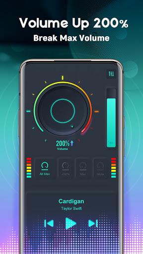 Volume Booster EQ - Louder & Mega Bass, Equalizer screenshot 2