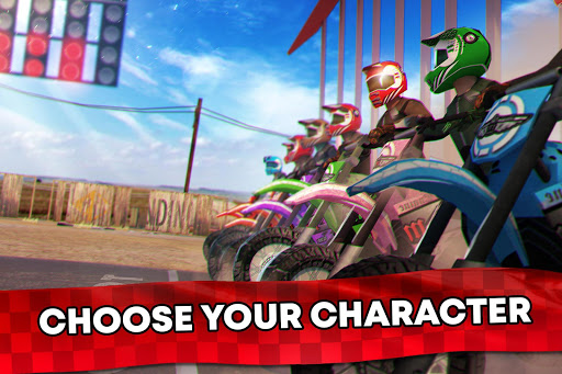 Free Motor Bike Racing - Fast Offroad Driving Game screenshot 4