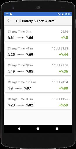Full Battery & Theft Alarm screenshot 5