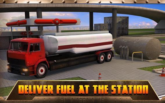 Oil Transport Truck 2016 screenshot 7