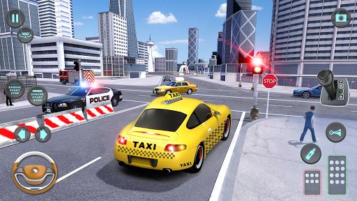 City Taxi Driving simulator: PVP Cab Games 2020 screenshot 6