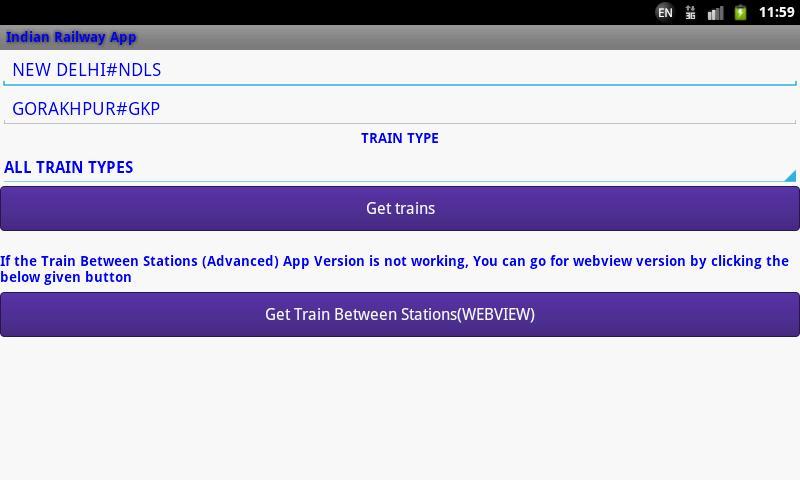Indian Railway screenshot 5