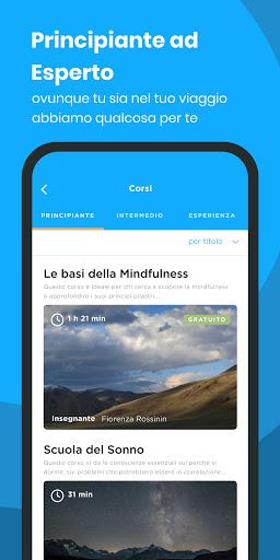 La Mindfulness App - Meditazione per tutti screenshot 4