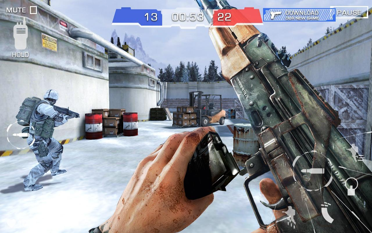 Critical Strike Shoot Battleground 5 تصوير الشاشة