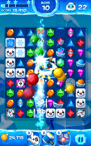 Jewel Pop Mania:Match 3 Puzzle 2 تصوير الشاشة