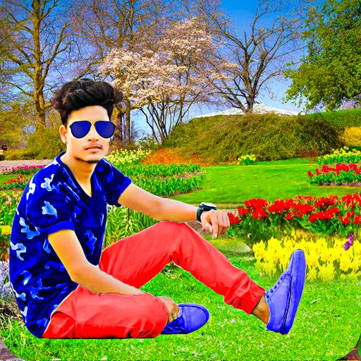 Garden Photo Editor-Photo Frames icon