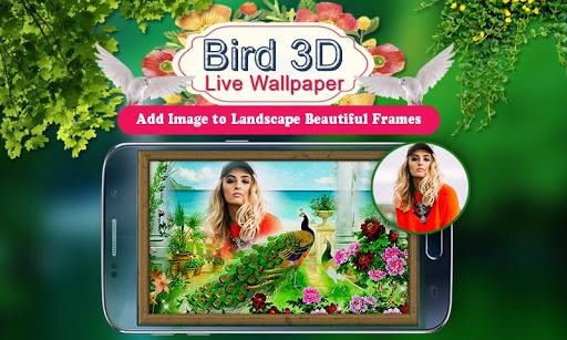 Birds 3D Live Wallpaper 4 تصوير الشاشة