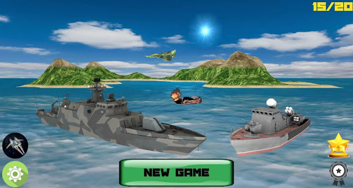 Sea Battle 3D PRO: Warships screenshot 1