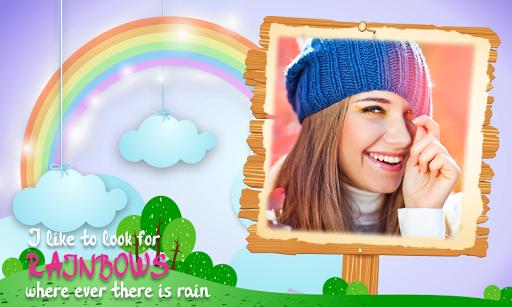 Rainbow Photo Frames 4 تصوير الشاشة