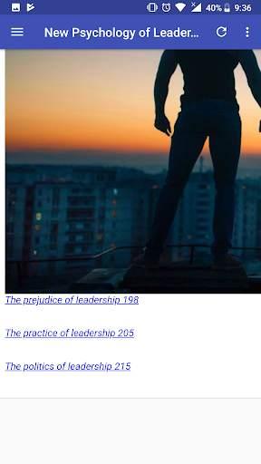 New Psychology of Leadership screenshot 6