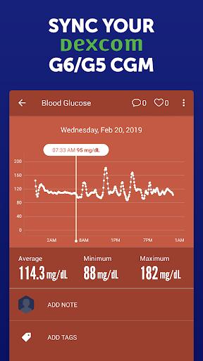 Glucose Buddy Diabetes Tracker screenshot 8