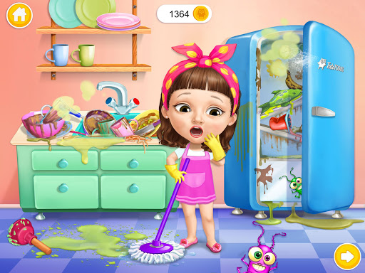 Sweet Baby Girl Cleanup 5 - Messy House Makeover 10 تصوير الشاشة