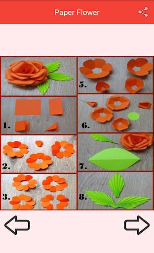 Paper Flower Craft screenshot 1