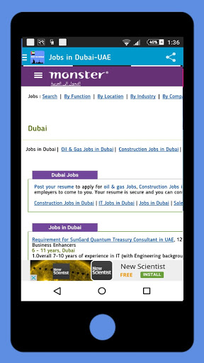 Jobs in Dubai-UAE Jobs 2 تصوير الشاشة