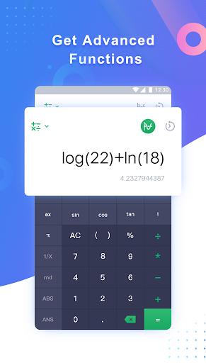 Calculator - free calculator, multi calculator app screenshot 1