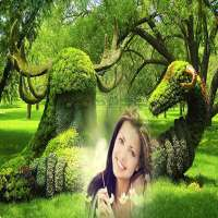 Garden Photo Frame on APKTom