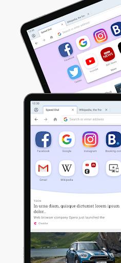 Opera Browser: Fast & Private screenshot 6
