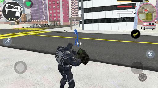 Agent Venom Rope Hero  Gngaster Crime screenshot 3