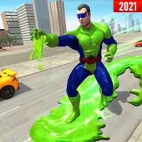 Green Slime Ninja Hero City:Strange Gangster Vegas on 9Apps