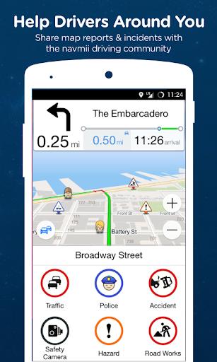 Navmii GPS World (Navfree) 2 تصوير الشاشة