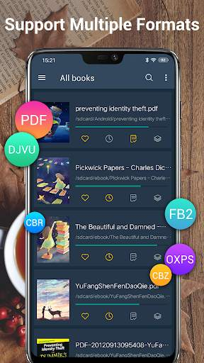 EBook Reader & PDF Reader screenshot 2