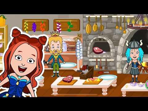 مدينة الأميرة تيزي - ألعاب قلعة بيت العرائس 1 تصوير الشاشة