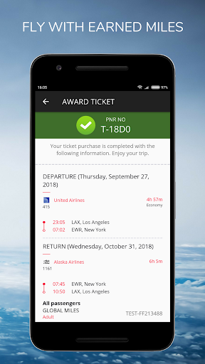 Global Miles - Flight Tickets, Buy Free with Miles screenshot 7