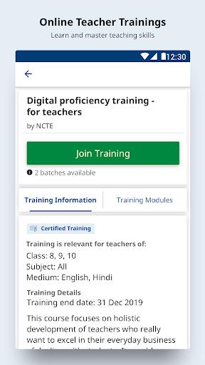 DIKSHA - Platform for School Education screenshot 3