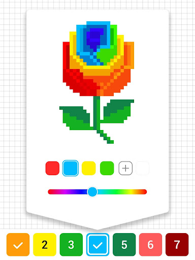 Draw.ly - Color by Number Pixel Art Magic Coloring screenshot 10