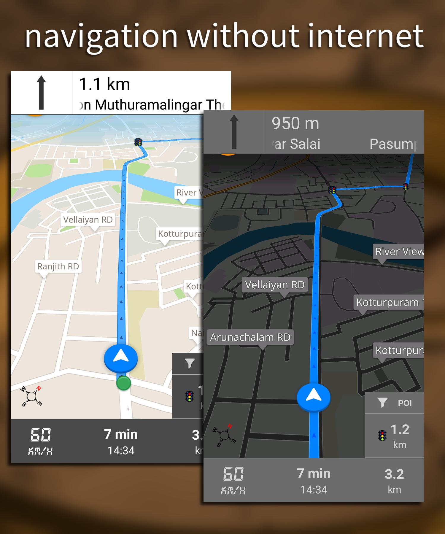 GPS Driving Directions скриншот 8