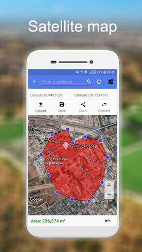 Distance And Area Measurement screenshot 3