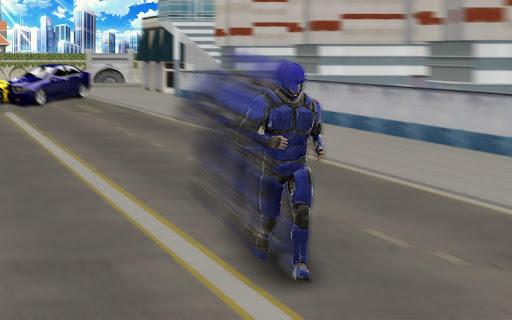 Super Light Speed Robot Superhero: Speed Hero 4 تصوير الشاشة